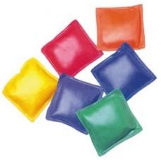 "Vinyl Bean Bags - 5"" (1 Doz.)(2 ea. Color)"