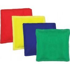 "Soft Canvas Bean Bags - 5"" (Set of 12)"